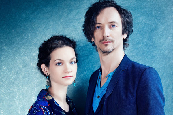 The couple of Hilary Hahn and Hauschka have two kids.