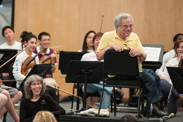 Toby Perlman is the wife of Itzhak Perlman.