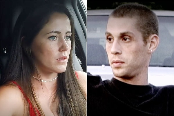 Jenelle Eason and her ex-partner Andrew Lewis