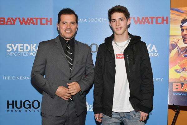 Lucas Leguizamo is the son of John Leguizamo