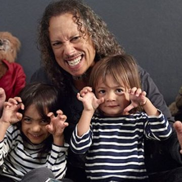 Meet Kirk Hammett's Two Children Whom He Had With His Wife Lani Hammett