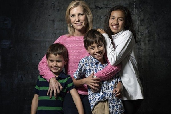 Laura Ingraham is sthe mother of three kids.