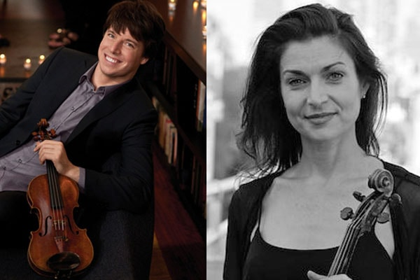 Joshua Bell and former girlfriend Lisa Matricardi have 3 sons together.