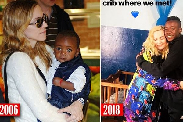 Madonna's son is David Banda Mwale Ciccone Ritchie