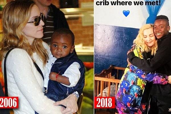 Madonna's son is David Banda Mwale Ciccone Ritchie