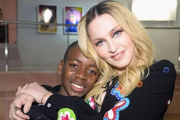 David Banda, Madonna's adopted son