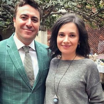 Meet Olga Gringolts – Photos Of Maxim Vengerov's Wife With Whom He Has Been Married Since 2011