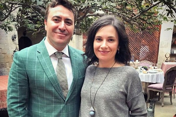 The couple of Maxim Vengerov and Olga Gringolts.