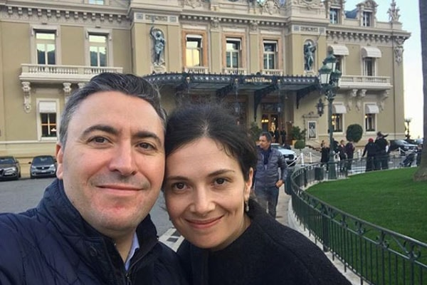 Maxim is married to wife Olga Gringolts