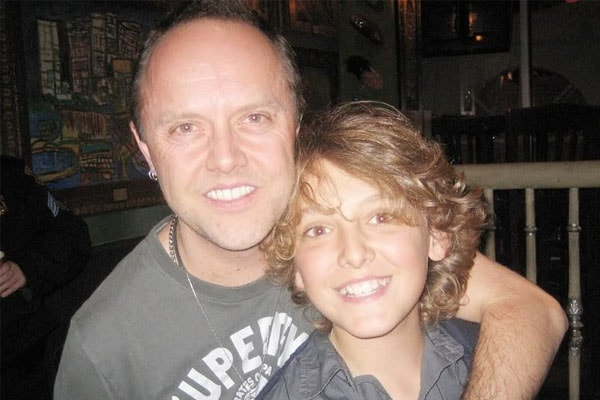Lars Ulrich and Myles Ulrich