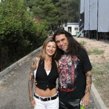 Meet Sandra Araya – Photos Of Tom Araya's Wife With Whom He Has Been Married Since 1995