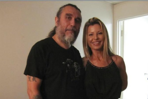 Sandra Araya and her husband
