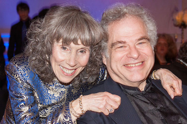 Toby Perlman is the wife of Itzhak Perlman