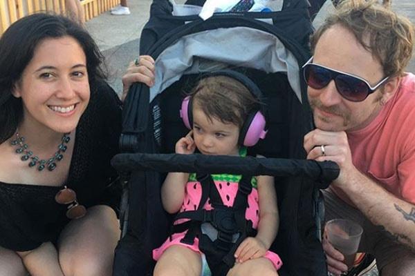 Vanessa Carlton and John McCauley's daughter is Sidney Carlton-McCauley.