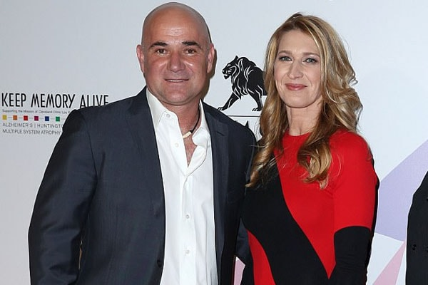 Andre Agassi and Steffi Graf are the parents of Jaz Elle Agassi
