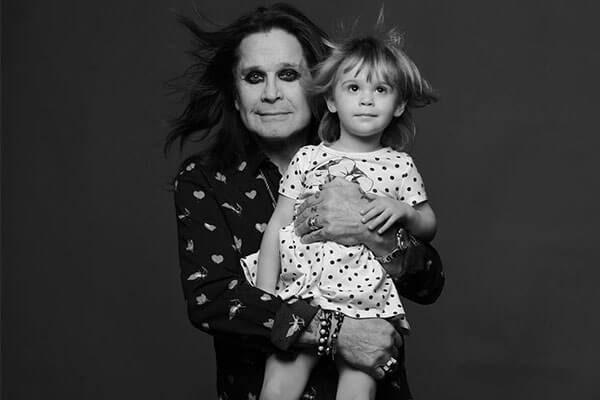 Ozzy Osbourne's granddaughter Andy Rose