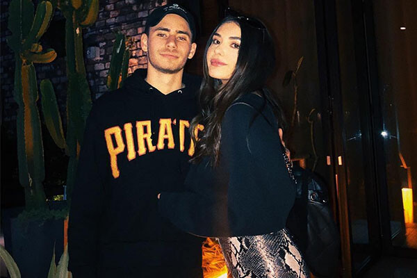 Atiana de la Hoya and Ryan Garcia