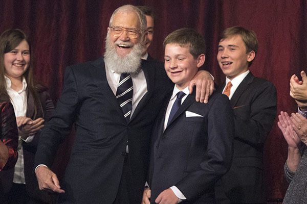 David Letterman's son Harry Joseph Letterman