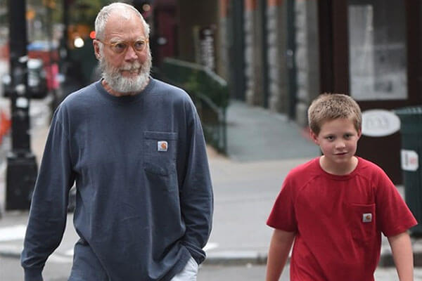 David Letterman and Harry Joseph Letterman