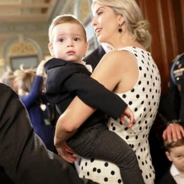 Meet Theodore James Kushner – Photos Of Ivanka Trump's Son With Husband Jared Kushner
