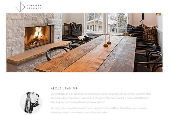 Jennifer DeLonge's website