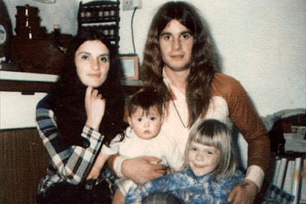 Jessica Osbourne's parents and brother