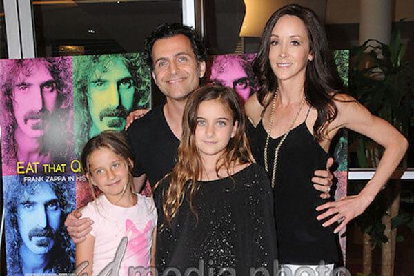 Dweezil Zappa's daughters