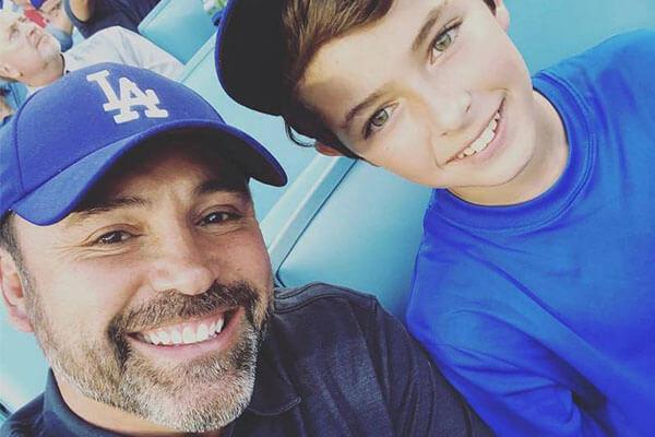 Oscar De La Hoya's son Oscar Gabriel De La Hoya.