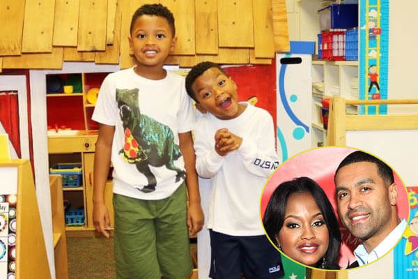 Phaedra Parks two sons