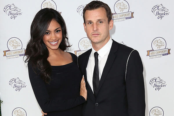 Rob Dyrdek's wife Bryiana Noelle Flores and Rob Dyrdek