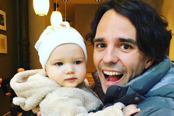 Serena Altschul's boyfriend and daughter