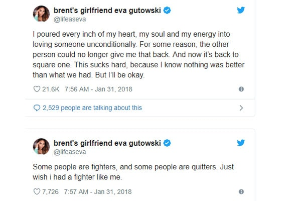 Eva Gutowski And Adam Bartoshesky Just Breakup?