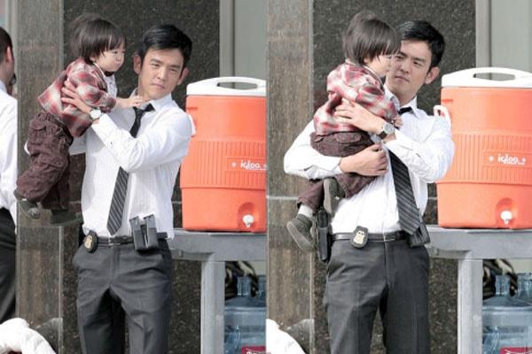 John Cho's Son Kage Cho
