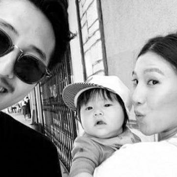Meet Jude Malcolm Yeun – Photos Of Joana Pak's Son With Husband Steven Yeun