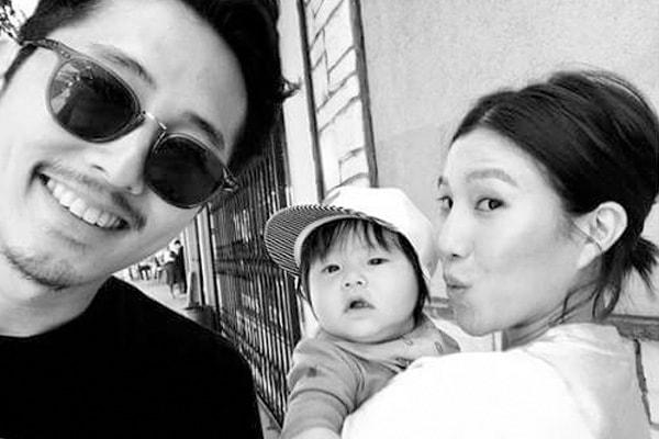 Steven Yeun And His Wife Joana Pak's son Jude Malcolm Yeun