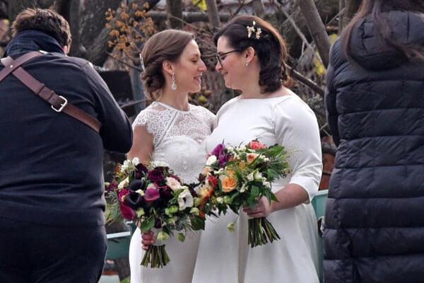 Alison Emma Schumer marries Elizabeth Anne Weiland