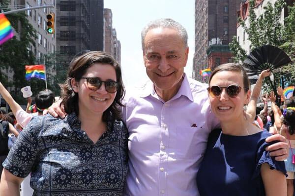 Chuck Schumer's lesbian daughter