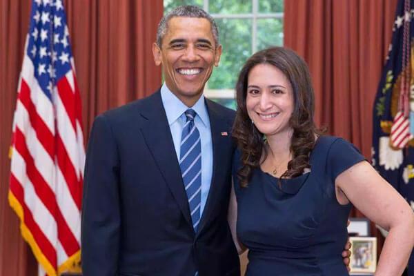 Jessica Emily Schumer and Barack Obama