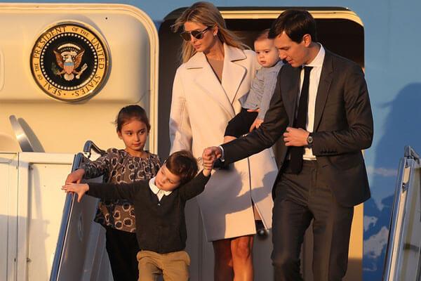 Ivanka Trump and Jared Kushner's family