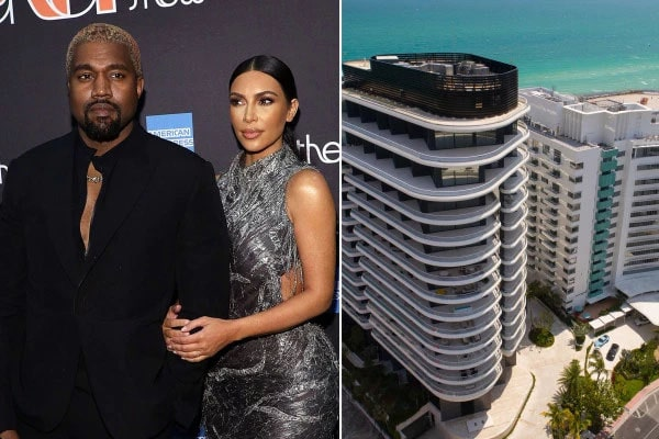 Kanye west Gifted 414 million condo to Kim