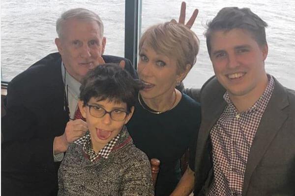 Barbara Corcoran's family
