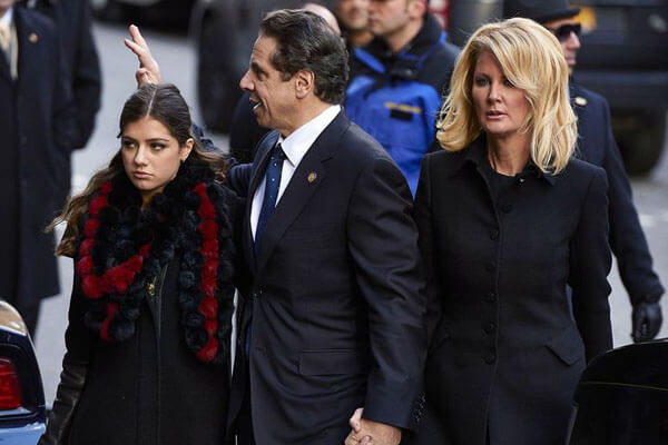 Andrew Cuomo's daughter and girlfriend