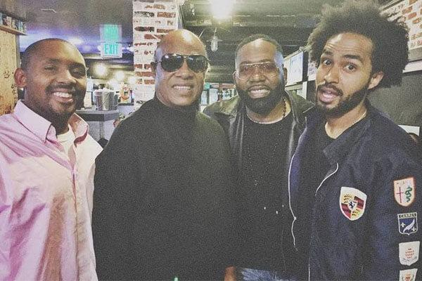 Stevie Wonder's son Mumtaz Morris