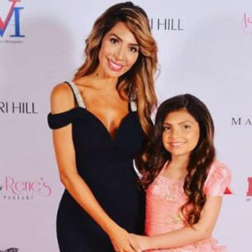 Meet Sophia Laurent Abraham – Photos Of Farrah Abraham's Daughter With Baby Father Derek Underwood