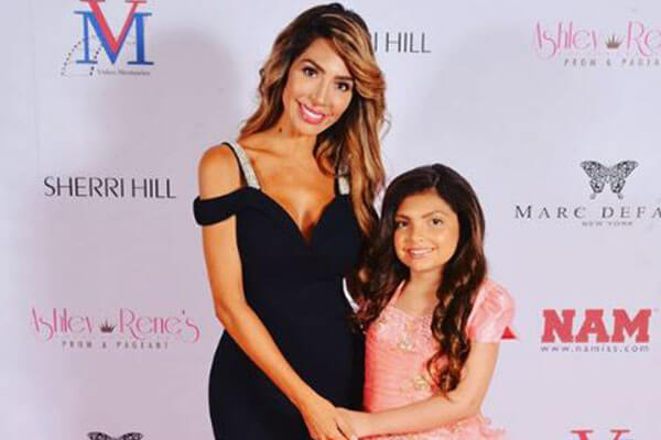 Farrah Abraham's daughter Sophia Laurent Abraham