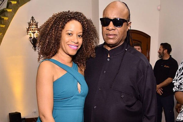 Stevie Wonder and Tomeeka Robyn Bracy