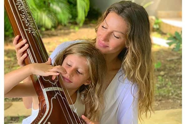 Gisele Bundchen daughter Vivian Lake