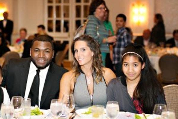 Alexandra Ortiz, Tiffany Ortiz and David Ortiz's daughter