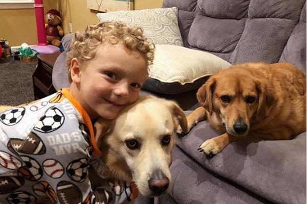 Brady Zetts Ryan dogs