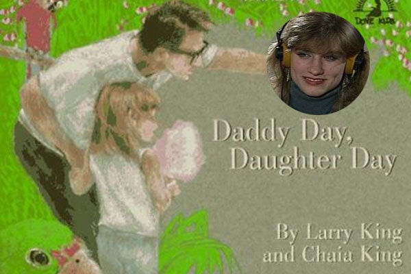 Chaia King's book Daddy Day, Daughter Day